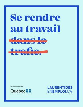 Emplois Laurentides - Se rendre au travail