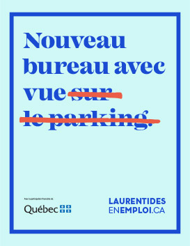 Emplois Laurentides - Bureau