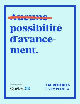 Emplois Laurentides - Avancement